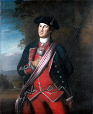 George Washington by Charles Willson Peale, oil on canvas, 1772